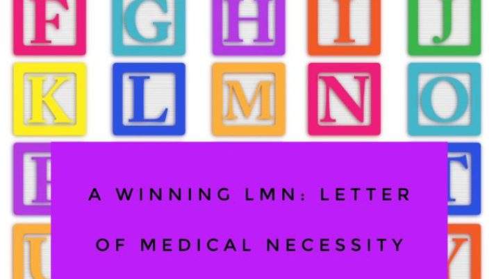 A Winning LMN:  Letter of Medical Necessity for Equipment