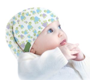 Cute and effective Tortle for plagiocephaly and torticollis