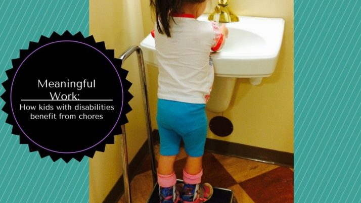 Meaningful work: how kids with physical disabilities benefit from chores