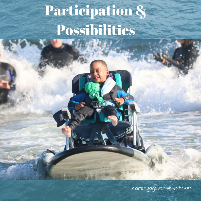 Plan for participation & possibilities, then make them happen